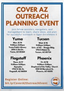 2017 Cover AZ Outreach Planning Event